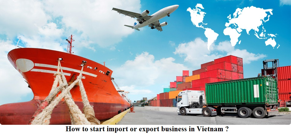 how to start import or export business in Vietnam