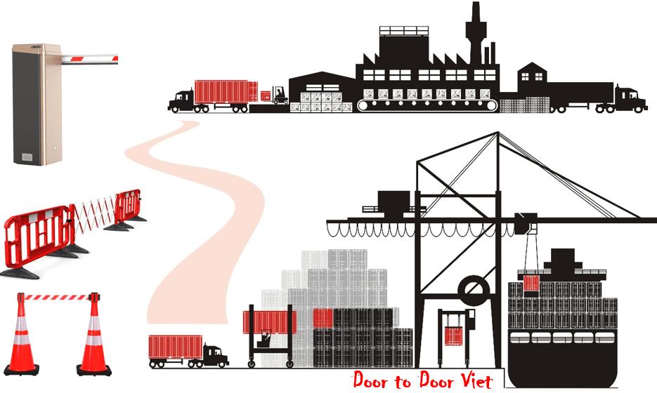 Thủ tục nhập khẩu barrier